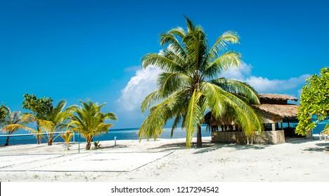 Fun Island Resort Maldives Stock Photos Images