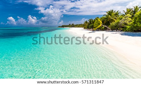 maldives perfect paradise beach tropical island の写真素材 今すぐ