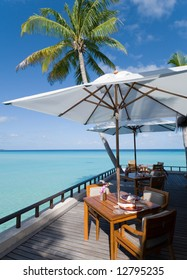 maldives seascape. Reethi Rah island.