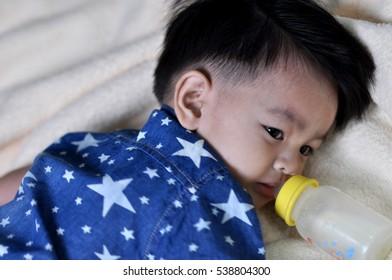 Male baby milk