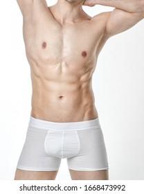 male body muscle skin underwear sport athletic health