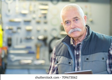male customer at hardware store