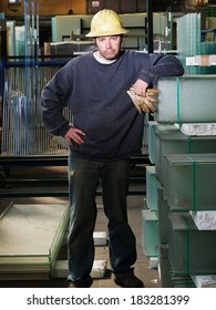 Male Factory Worker