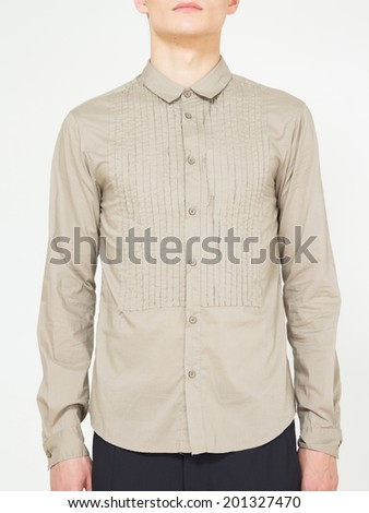 977e72cab25d Male Fashion Clothes Display Studio Shoot Stock Photo (Edit Now ...