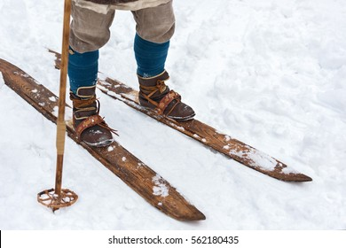 Old Ski Boots Images Stock Photos Vectors Shutterstock