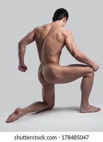 male figure shows