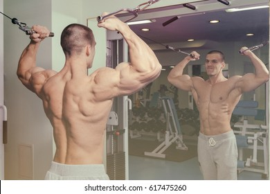 Male fitness concept