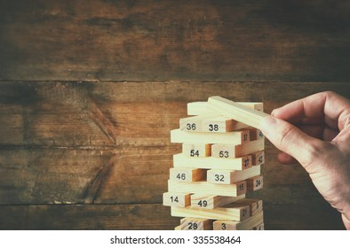 Royalty Free Wood Block Puzzle Images Stock Photos Vectors