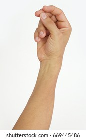 male hand snapping fingers