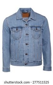 Male jeans jacket