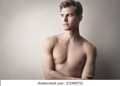 Blonde male hair model 20 Blonde