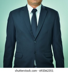 Male model in a suit, process color.