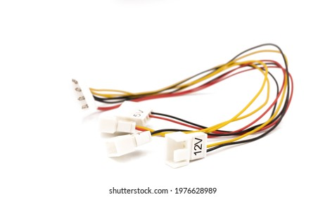The male molex connector to 2 pins  12v, 7v and 5v