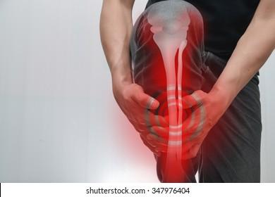 male Muscles - Bones leg pain.