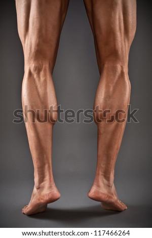 Male Muscular Legs Stock Photo (Edit Now) 117466264 - Shutterstock