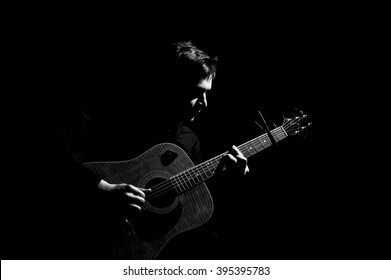 103 001 Black Black Guitar Images Royalty Free Stock Photos On