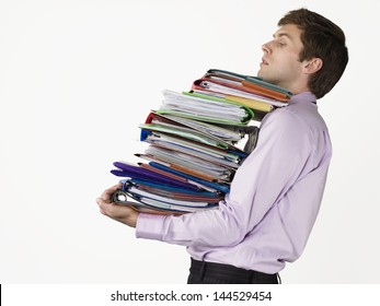 Image result for carrying a bunch of documents