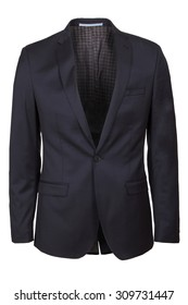 male one button blazer