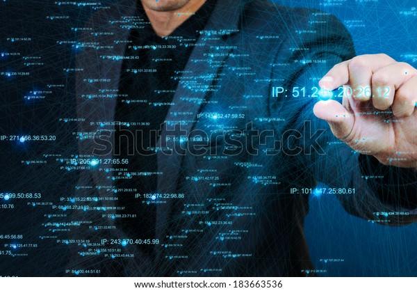 Netzstruktur für die männliche Auswahl