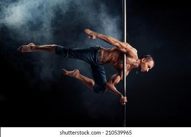 Male Pole Dance Athlete