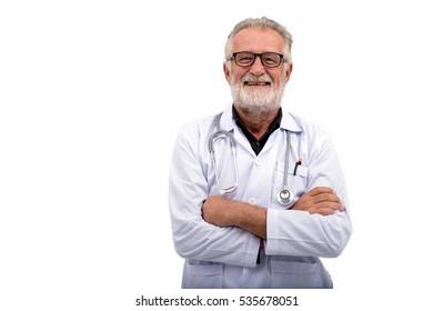Male senior doctor. Professional doctor