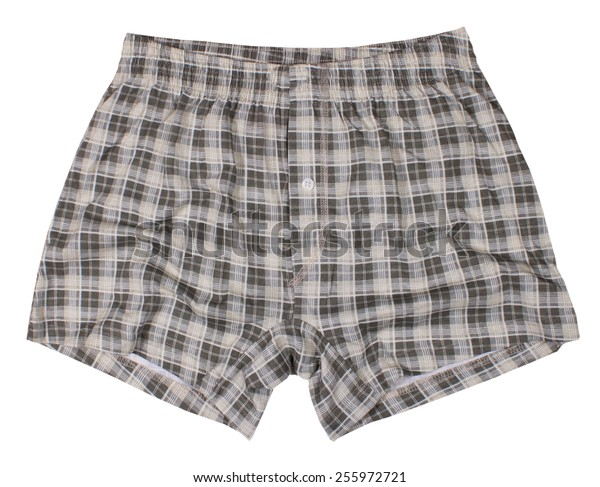 Male underwear isolated on a white background.