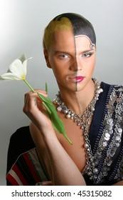Male&Female body art