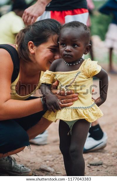 Mali Africa Circa August 2009 White Stock Photo Edit Now 1177043383