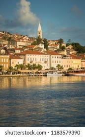 Mali Losinj, Croatia / September 7th 2017: Beautiful city of Mali Losinj in Croatia, Europe