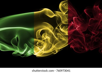 Mali smoke flag
