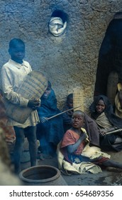 Mali, West Africa - January 25, 1992: Islamic Koranic School