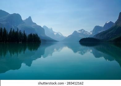 Maligne Valley - Maligne Lake,  Jasper National Park, AB, Canada