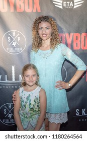 """Malika Michelle, Carolyn Maraghi attends  Skyline Entertainment's  """"The ToyBox"""" Los Angeles  Premiere at Laemmle's NoHo 7, North Hollywood, California on September 14th, 2018"""