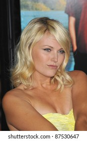"Malin Akerman at the American premiere of her new movie ""Couples Retreat"" at Mann's Village Theatre, Westwood. October 5, 2009  Los Angeles, CA Picture: Paul Smith / Featureflash"