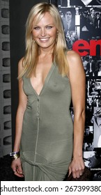 """Malin Akerman attends the """"Entourage"""" Third Season Premiere held at the The Cinerama Dome in Los Angeles, California on April 5, 2007."""