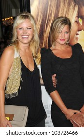 Malin Akerman and her sister  at the World Premiere of 'Love Happens'. Mann Village Theatre, Westwood, CA. 09-15-09