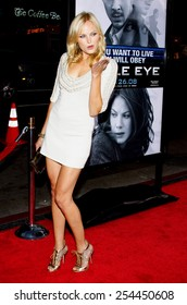 "Malin Akerman at the Los Angeles Premiere of ""Eagle Eye"" held at the Grauman's Chinese Theater in Hollywood, California, United States on September 16, 2008."