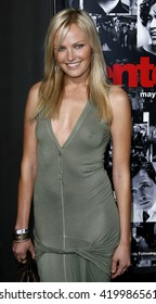 Malin Akerman at the season 3 premiere of HBO's 'Entourage' held at the Cinerama Dome in Hollywood, USA on April 5, 2007.