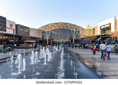 The Mall of Africa is the Biggest Shopping Mall built in a single phase in the entire Africa Continent,  Johannesburg, South Africa on 30th July 2018