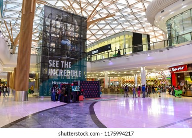 The Mall Of Africa is the Biggest Shopping Mall in the Africa Continent, Johannesburg, South Africa on 30th July 2018