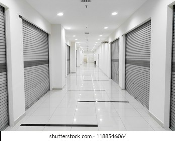 mall shop lot with roll shutter