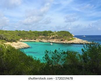 Mallorca cala mandrago blue see