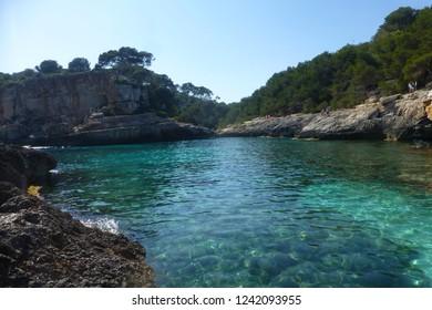 Mallorca. Cala Moro S´Almonia. Baleares, Spain