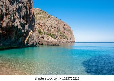 Mallorca, Majorca, Spain - Sa Calobra beach
