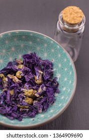 mallow hollyhock detail, healthy herbs naturopathy