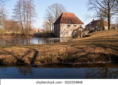 The Mallumsche watermill near Eibergen in the Dutch region Achterhoek