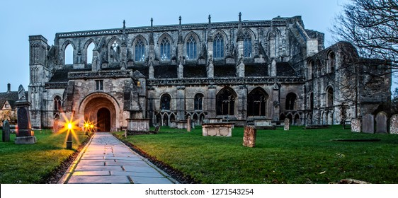 Malmesbury Abbey in Wiltshire