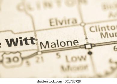 Malone. Iowa. USA.