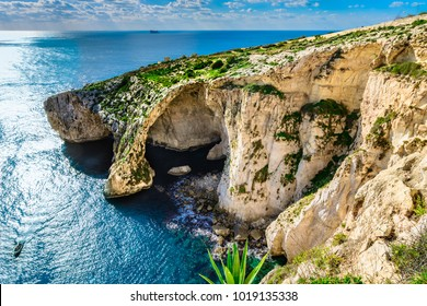 Malta: Blue Grotto - one of natural landmarks of the island