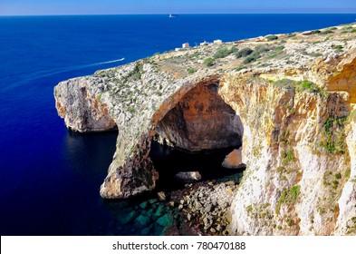 Malta, Italy, Cliff